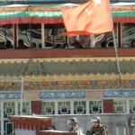 Sicherheit in Lhasa...